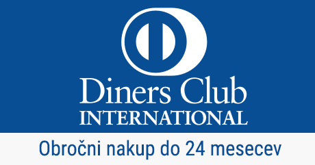 Diners - Obročni nakup do 24 mesecev