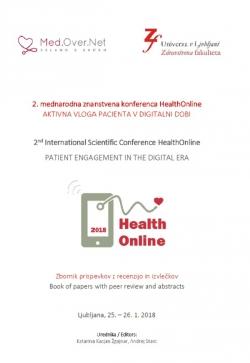 2. mednarodna znanstvena konferenca HealthOnline 2018